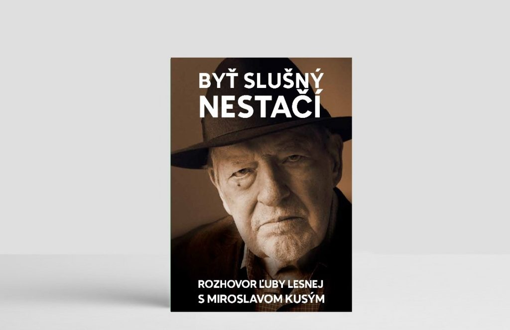 Denník N vydal knihu rozhovorov Ľuby Lesnej s Miroslavom Kusým